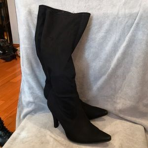 Knee High Soft Suede Boots